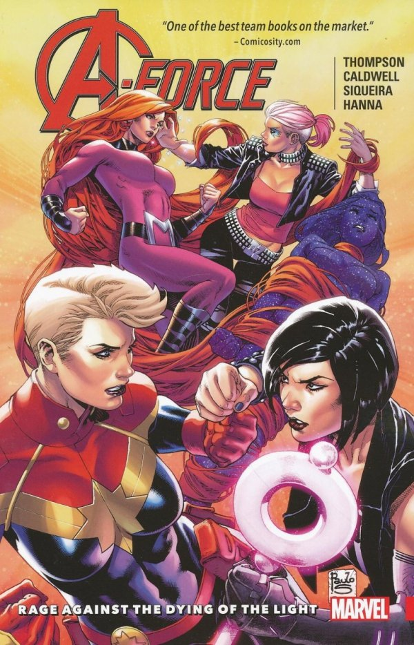 A-FORCE TP VOL 02 RAGE AGAINST DYING OF LIGHT