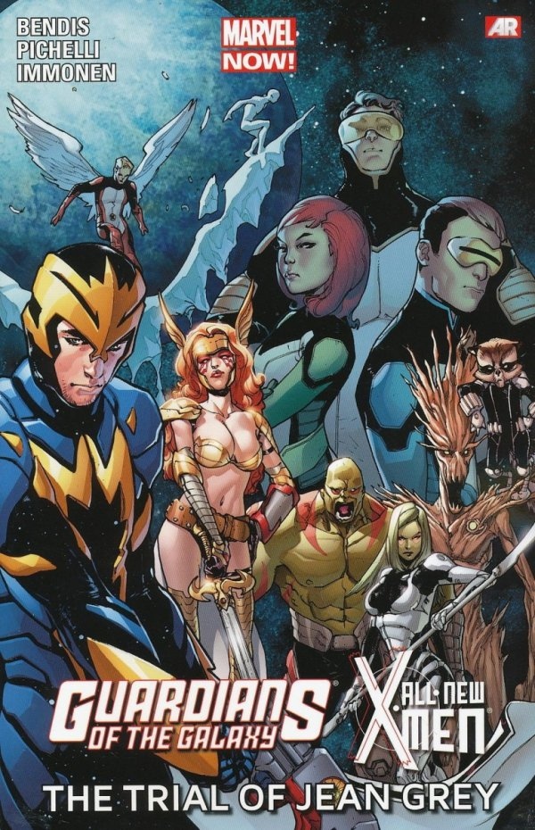 GUARDIANS OF THE GALAXY ALL-NEW X-MEN THE TRIAL OF JEAN GREY SC