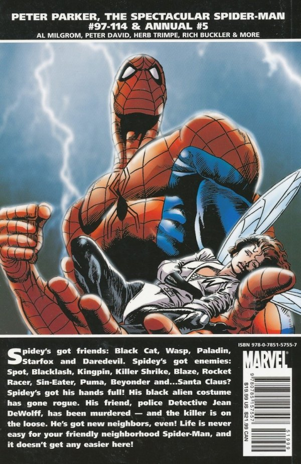 ESSENTIAL PETER PARKER THE SPECTACULAR SPIDER-MAN VOL 05 SC *
