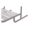 Krzesełko Prysznicowe dla Niepełnosprawnych Zawieszane na poręczy białe fi25