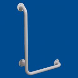 Uchwyt Kątowy dla Niepełnosprawnych lewy 80/40cm biały fi32