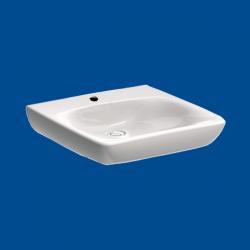 Umywalka dla osób niepełnosprawnych 55cmx55cm z przelewem