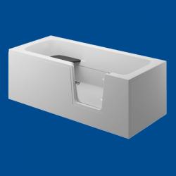 Obudowa wanny panel boczny biały uniwersalny VOVO / AVO 170cm