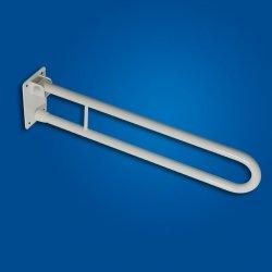 Uchwyt Uchylny dla niepełnosprawnych WC 60cm biały fi25