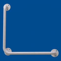 Uchwyt Kątowy dla Niepełnosprawnych 70/70cm biały fi25