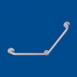 Uchwyt Kątowy dla Niepełnosprawnych specjalny 60/60cm biały fi25