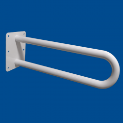 Uchwyt Umywalkowy / WC dla Niepełnosprawnych stały 85cm biały fi32