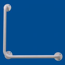 Uchwyt Kątowy dla Niepełnosprawnych 50/50cm biały fi25