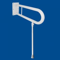 Uchwyt Uchylny dla Niepełnosprawnych z nogą 50cm biały fi32