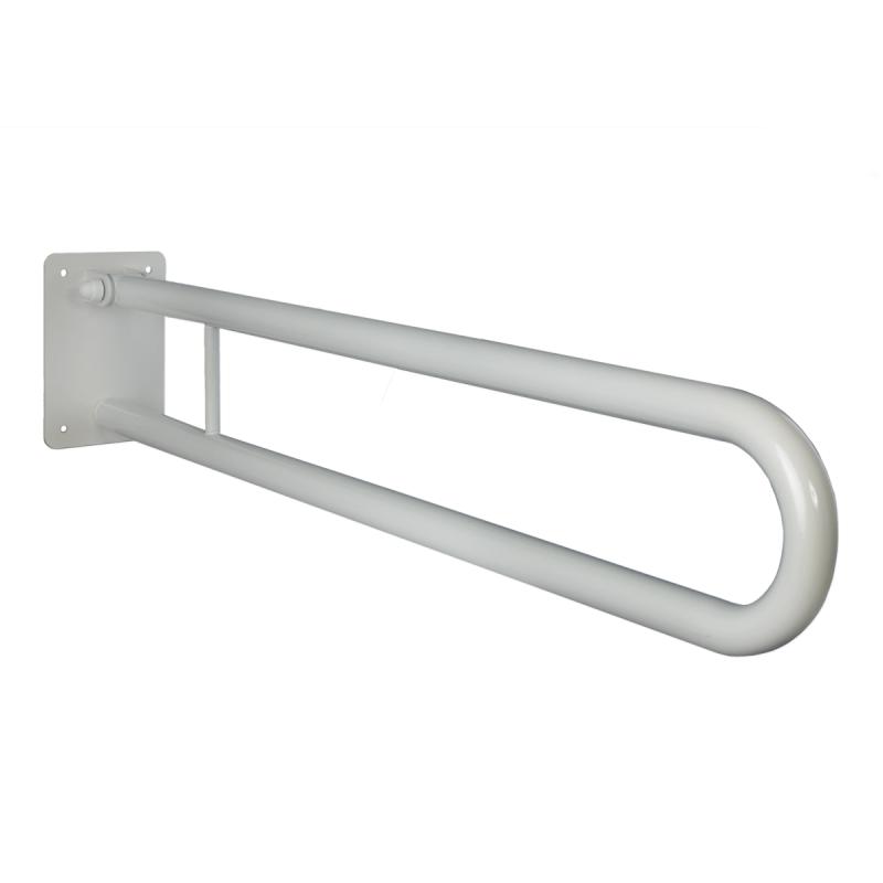 Uchwyt Uchylny dla Niepełnosprawnych 50 cm biały fi25