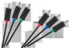 Kabel 3RCA-3RCA Component 1.8m Cabletech standard