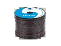 Kabel głośnikowy CCA 0.50mm czarny