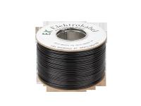 Kabel głośnikowy SMYp 2 x 1,5mm czarny 100m