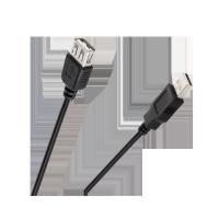 Kabel USB typ A wtyk - gniazdo 0,8m