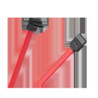 Kabel SATA kątowo-prosty 35cm