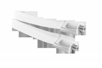 Kabel gniazdo F-gniazdo F okienny HQ biały LX5137B