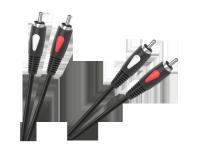 Kabel 2RCA-2RCA 1.0m Cabletech Eco-Line