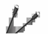 Kabel USB typu C - USB typu C M-Life czarny 1m