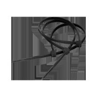 Opaski zaciskowe 9.0mm/122cm czarne
