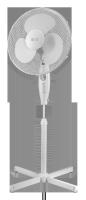 Wentylator stojacy TEESA  z wyłacznikiem czasowym