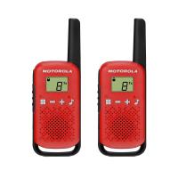 Radiotelefony ręczne PMR Motorola T42 czerwony