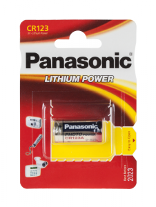 Bateria PANASONIC CR123 1szt/bl