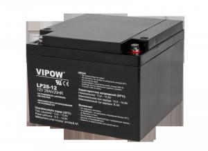Akumulator żelowy VIPOW 12V 28Ah