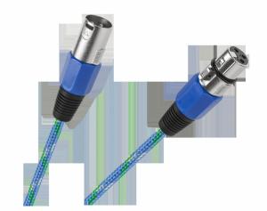 Kabel mikrofonowy CANON wtyk-gniazdo 3m