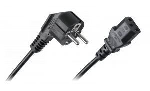 Kabel zasilający sieciowy do komputera 1.2m