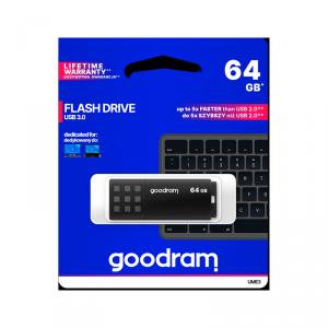 Pendrive Goodram USB 3.0 64GB czarny