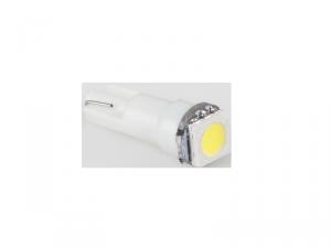 Żarówka samochodowa 12V T5-WG 1SMD 5050 3chips biała