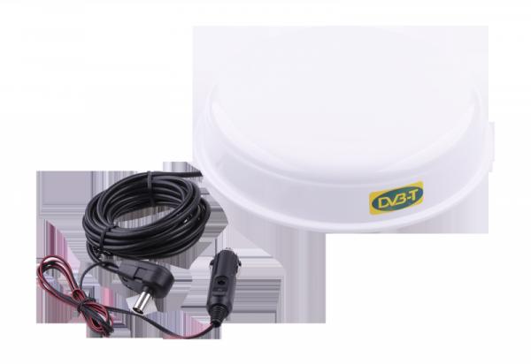 Antena TV naziemnej cyfrowej UFO magnes (DVB-T + analog)