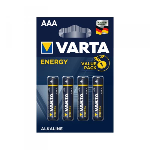 Bateria alkaliczna VARTA LR03 ENERGY 4szt./bl.