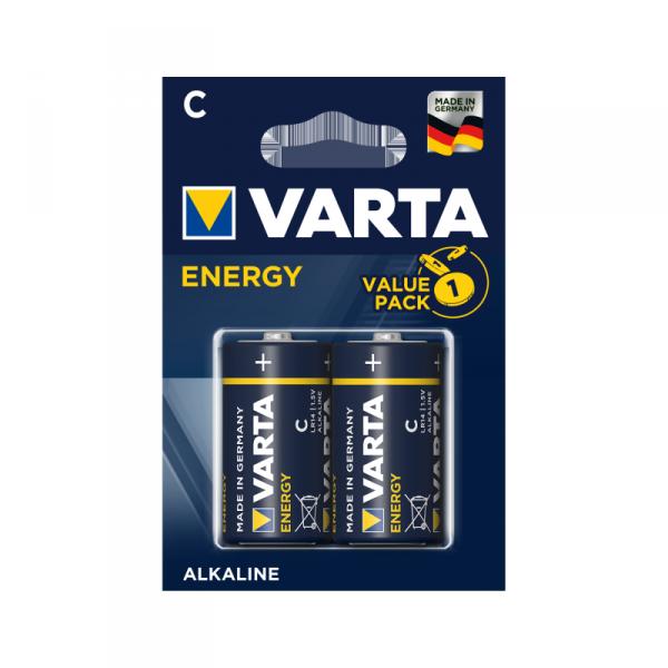 Bateria alkaliczna VARTA LR14 ENERGY 2szt./bl.