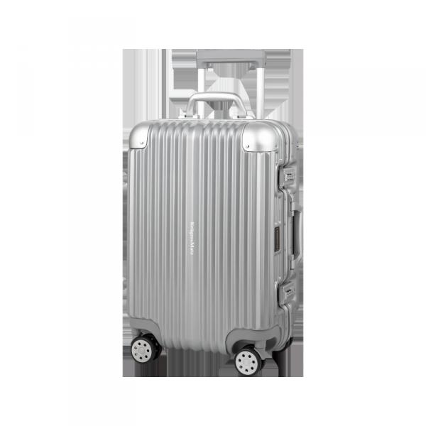 Kabinowa walizka na kółkach Kruger&Matz srebrna