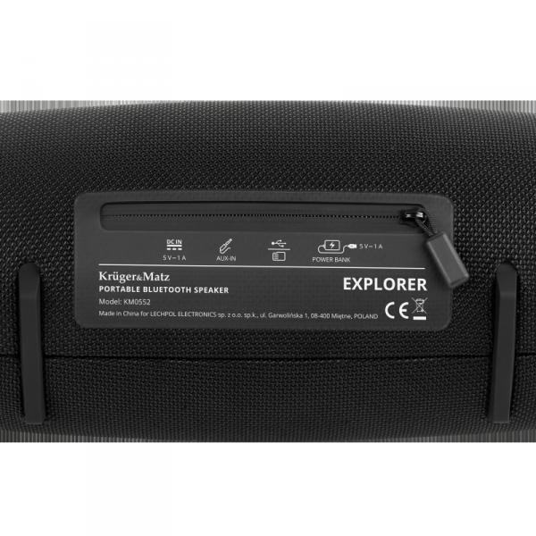 Przenośny głośnik Bluetooth Kruger&Matz Explorer