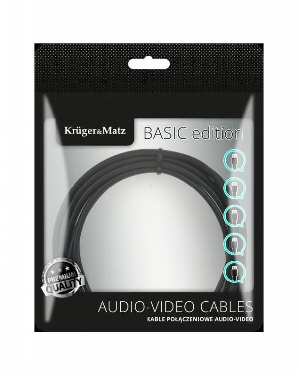 Kabel optyczny 1.5m Kruger&Matz Basic