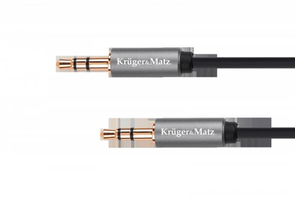 Kabel jack 3.5 wtyk stereo - 3.5 wtyk stereo 3m Kruger&Matz Basic