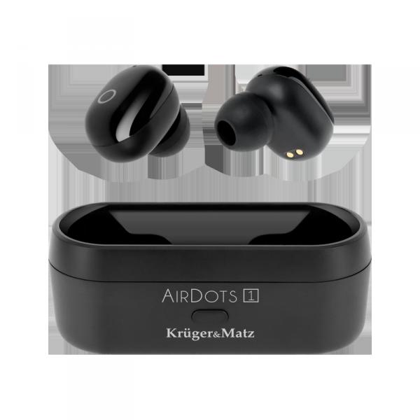 Bezprzewodowe słuchawki douszne TWS  Kruger&Matz Air Dots 1