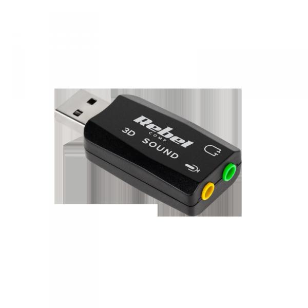 Karta dźwiękowa USB 5.1 Rebel