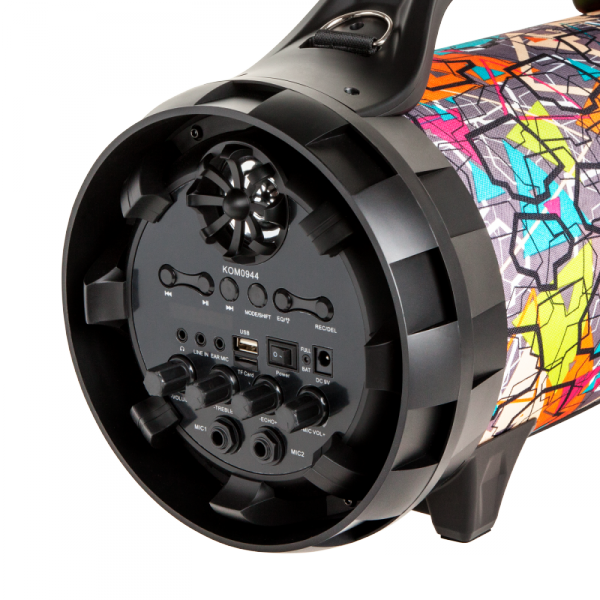 Duży przenośny głośnik bezprzewodowy marki REBEL