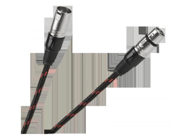 Kabel mikrofonowy gniazdo CANON-wtyk CANON 3m