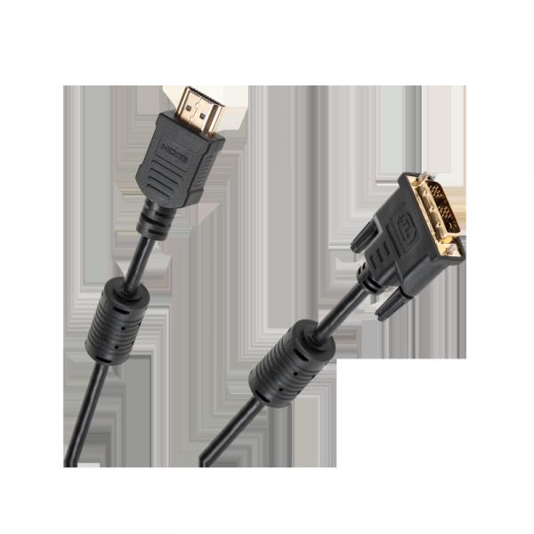 Kabel DVI (18+1) - HDMI 5m