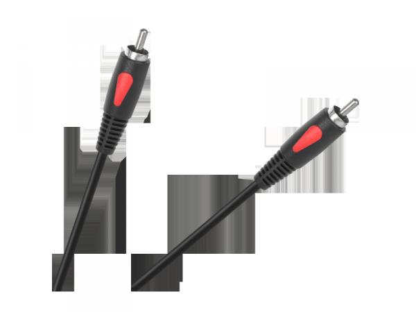 Kabel 1RCA-1RCA 1.0m Cabletech Eco-Line