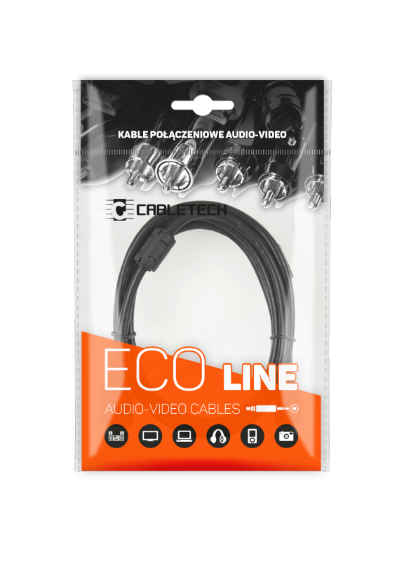 Kabel USB wtyk-wtyk   1.5m Cabletech Eco-Line