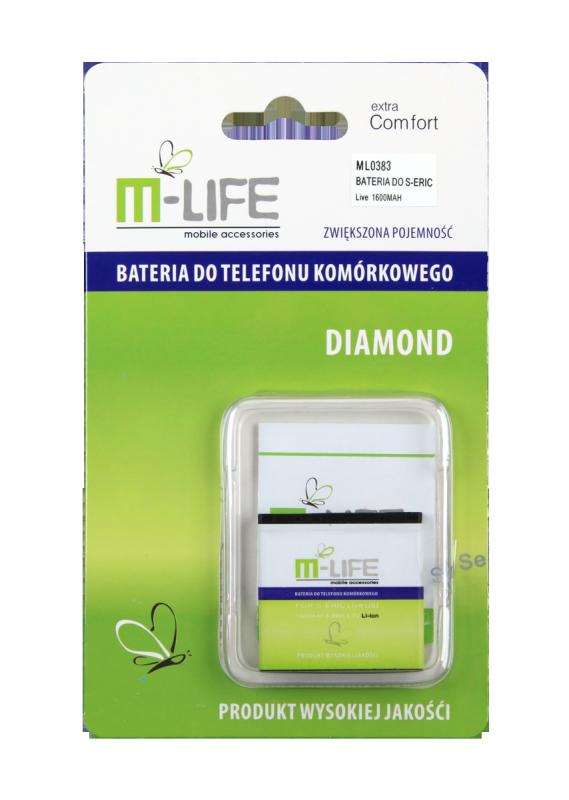 Bateria M-LIFE do Sony Ericsson X8 Live WT19i U500