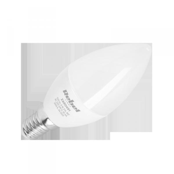 Lampa LED  Rebel, świeca 6W , E14 3000K, 2130V