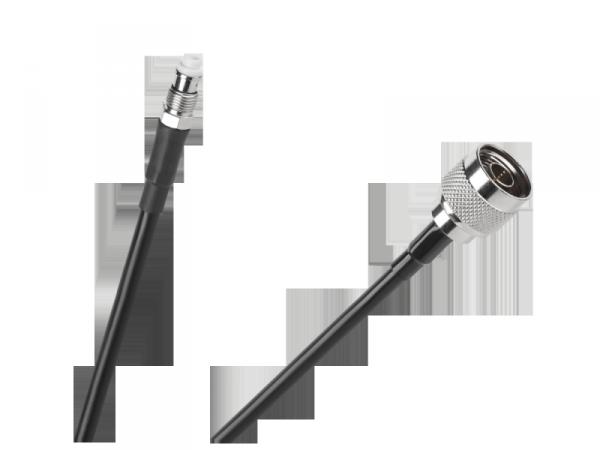 Kabel przyłącze H155 5m gniazdo FME - wtyk N