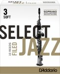 Stroiki do saksofonu sopranowego Rico Select Jazz