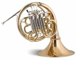 Waltornia podwójna F/B Stomvi Titan Seis Geyer gold brass surowa